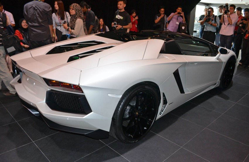 Lamborghini Aventador LP700-4 Roadster previewed in Malaysia – 18 months wait list, from RM3 million Image #142091