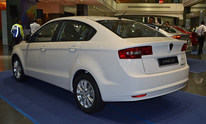 Proton Prevé with 1.6 turbo launched: RM60k – RM73k! Image #100979