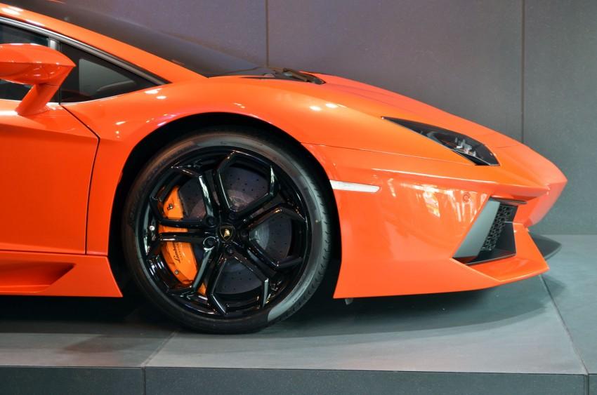 Lamborghini opens 3S centre in Glenmarie Image #108336