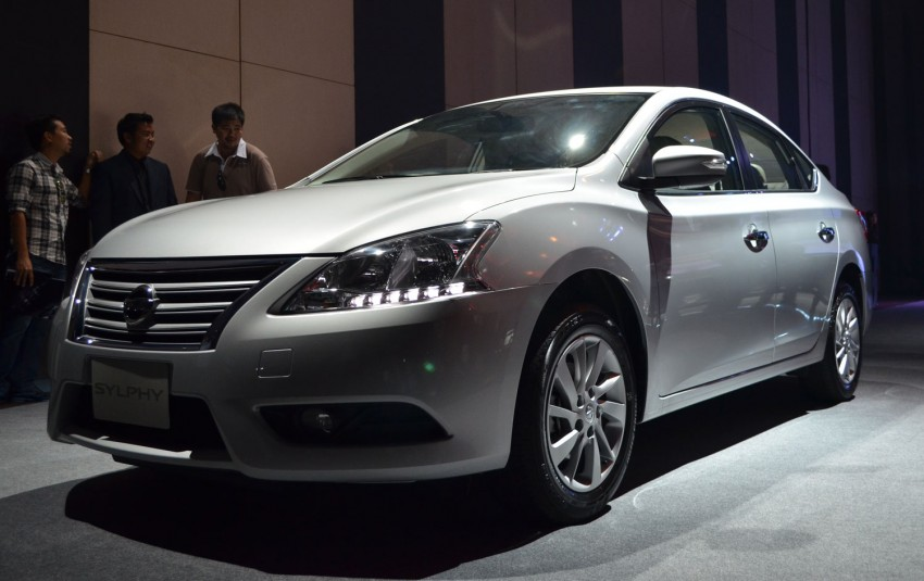 Nissan Sylphy launched in Thailand – new model gets improved 1.6, new 1.8, CVT; from 746,000 baht Image #127910