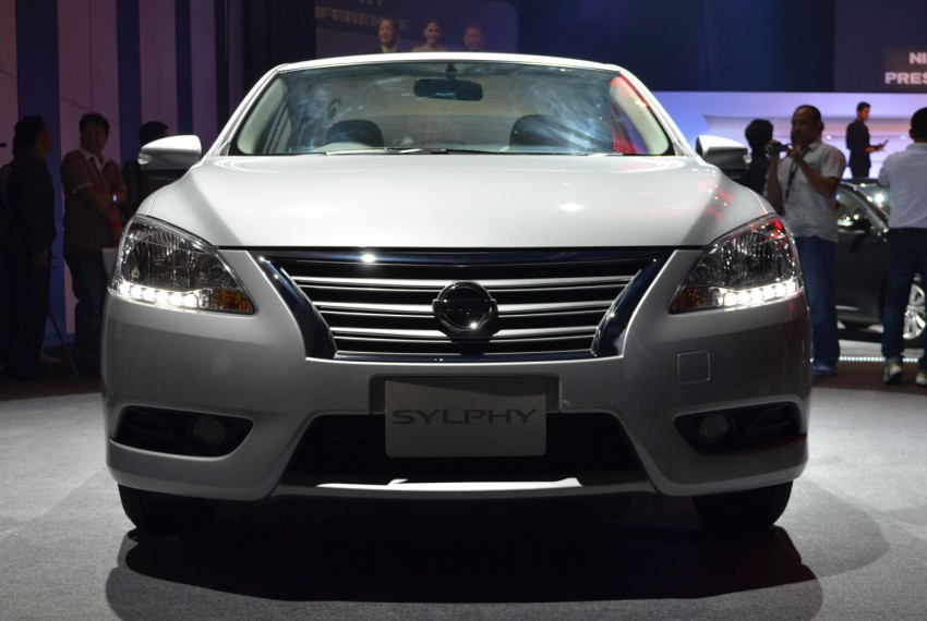 Nissan Sylphy launched in Thailand – new model gets improved 1.6, new 1.8, CVT; from 746,000 baht Image #127911