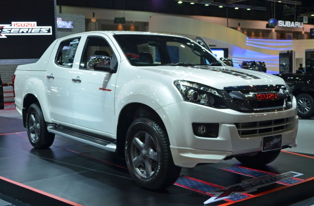 More Flashy Pick Up Trucks From Thailand Motor Expo But Unlike The Mazda Bt 50 Thrilling We Showed You Earlier This Isuzu D Max X Series Is For