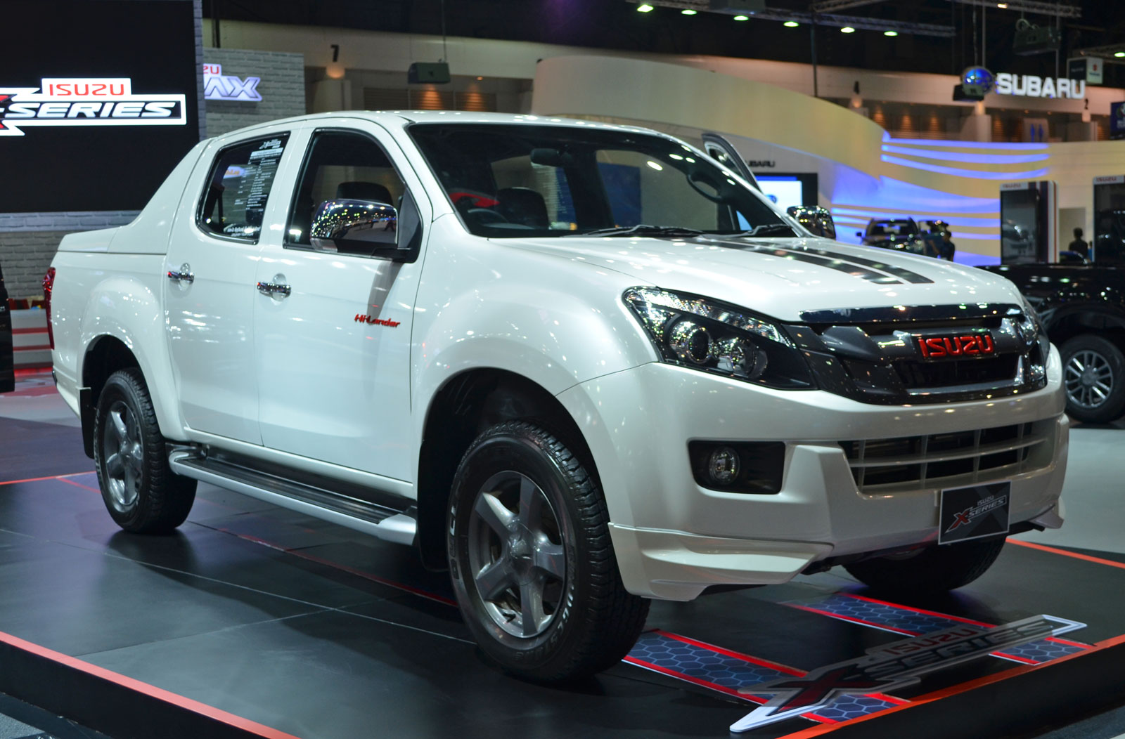 Isuzu D Max X Series Add Red For Bold Flavour