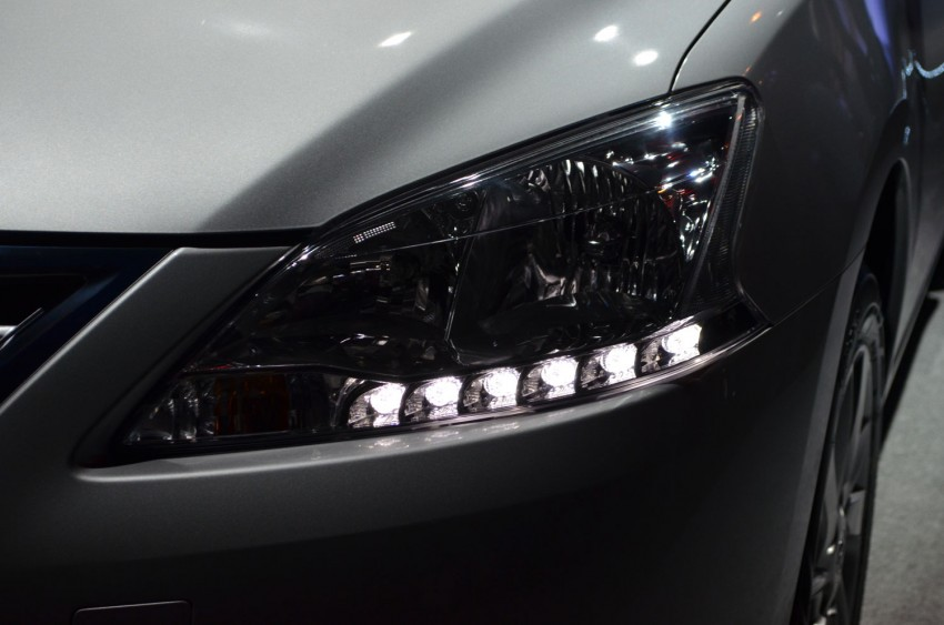 Nissan Sylphy launched in Thailand – new model gets improved 1.6, new 1.8, CVT; from 746,000 baht Image #127912
