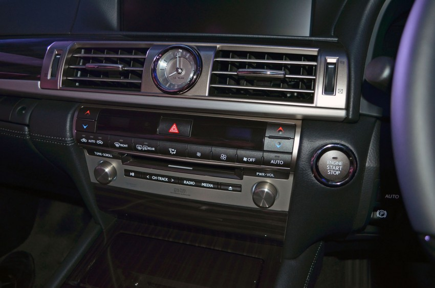 New Lexus LS launched – four variants, from RM788k Image #137827