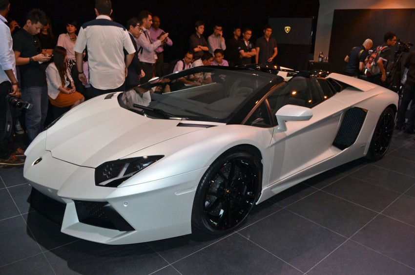 Lamborghini Aventador LP700-4 Roadster previewed in Malaysia – 18 months wait list, from RM3 million Image #142093