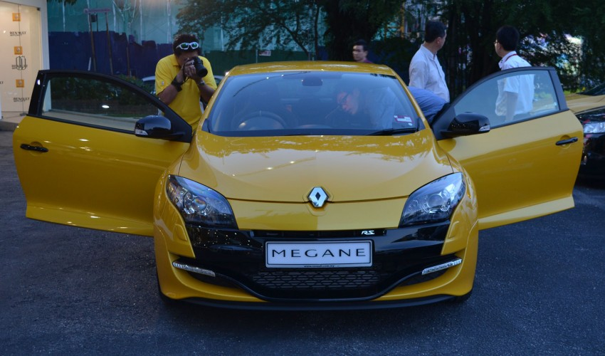 Renault Megane RS 265 Cup launched – RM235k Image #151715