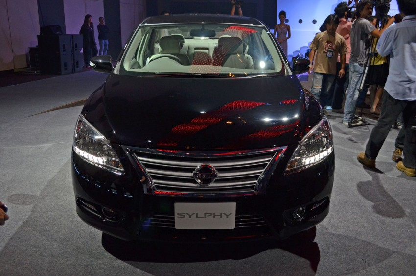 Nissan Sylphy launched in Thailand – new model gets improved 1.6, new 1.8, CVT; from 746,000 baht Image #127914
