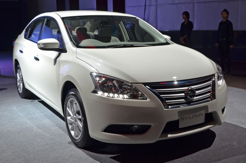 Nissan Sylphy launched in Thailand – new model gets improved 1.6, new 1.8, CVT; from 746,000 baht Image #127915