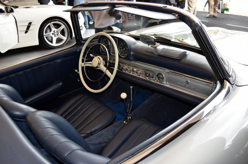 GALLERY: Five generations of the Mercedes-Benz SL Image #140467