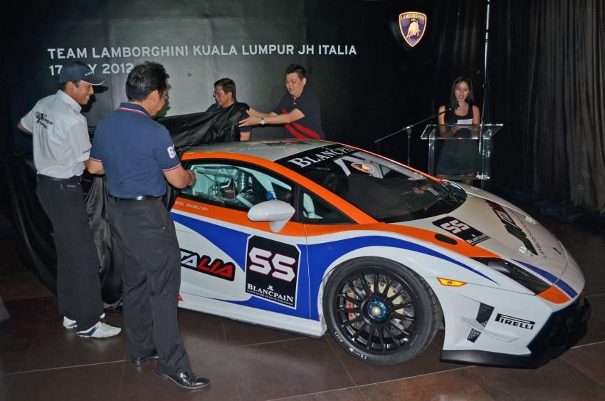 Team Lamborghini Kuala Lumpur JH Italia unveiled – Rizal Ashram Ramli a.k.a. Jejai is the Super Trofeo driver Image #107001