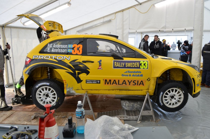 LIVE from Rally Sweden: Ex teammates Hirvonen and Latvala duel at the top, PG Andersson still leading S-WRC Image #87100