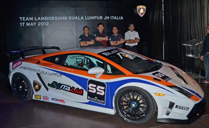 Team Lamborghini Kuala Lumpur JH Italia unveiled – Rizal Ashram Ramli a.k.a. Jejai is the Super Trofeo driver Image #107002