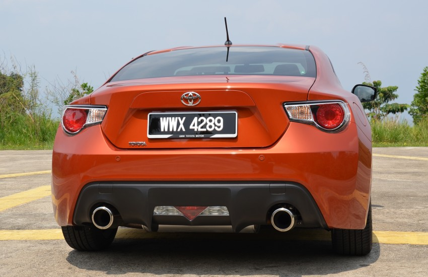 DRIVEN: Toyota 86 – a true gem under the veneer Image #115636