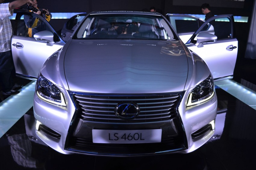 New Lexus LS launched – four variants, from RM788k Image #137832