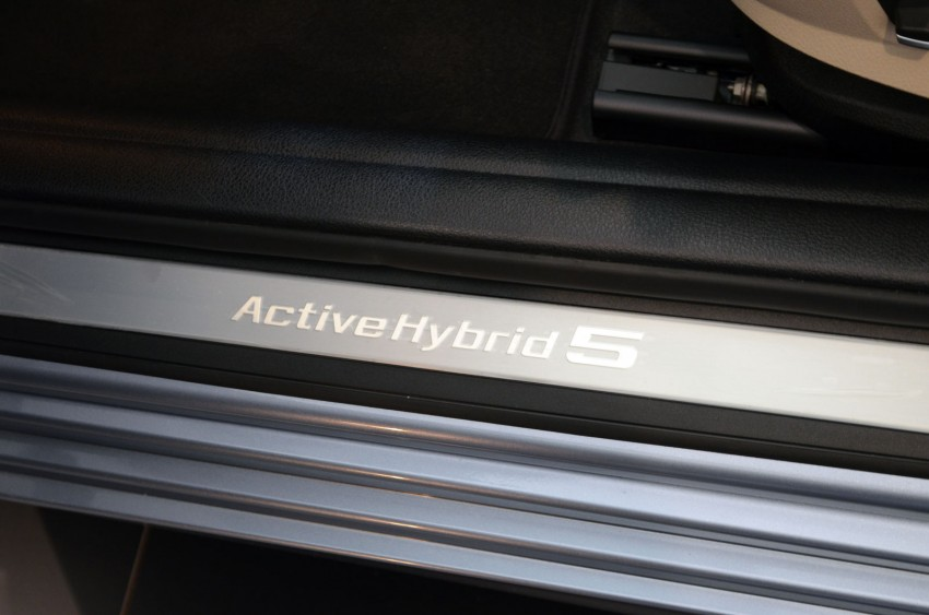BMW ActiveHybrid 3 and ActiveHybrid 5 sedans officially launched – RM538,800 and RM648,800 Image #138163