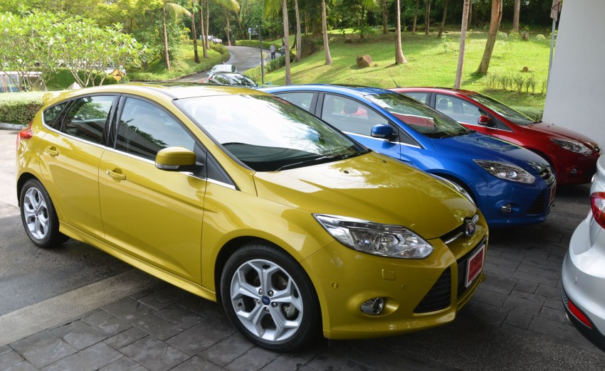 DRIVEN: New Ford Focus Hatch and Sedan in Krabi Image #118222