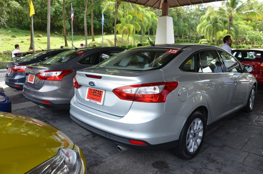 DRIVEN: New Ford Focus Hatch and Sedan in Krabi Image #118226