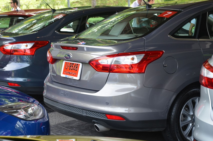 DRIVEN: New Ford Focus Hatch and Sedan in Krabi Image #118228