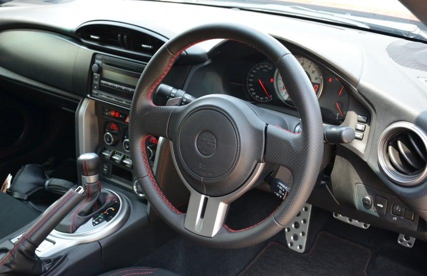 DRIVEN: Toyota 86 – a true gem under the veneer Image #115459