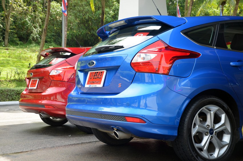 DRIVEN: New Ford Focus Hatch and Sedan in Krabi Image #118252