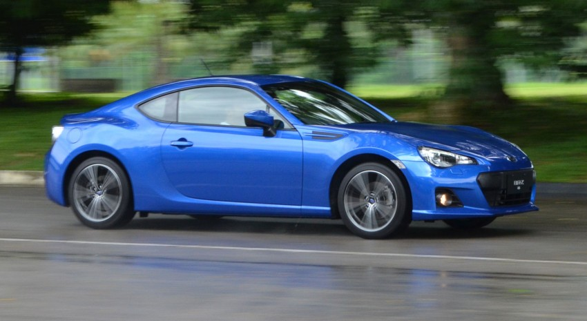 Subaru BRZ set for fourth quarter Malaysian launch – first impressions and full gallery from Singapore Image #98561