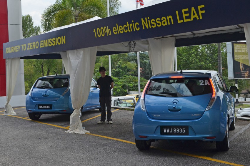 Nissan Leaf driven around the block – you can try it too! Image #104572