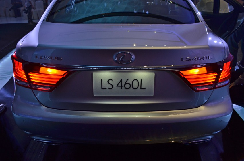 New Lexus LS launched – four variants, from RM788k Image #137837