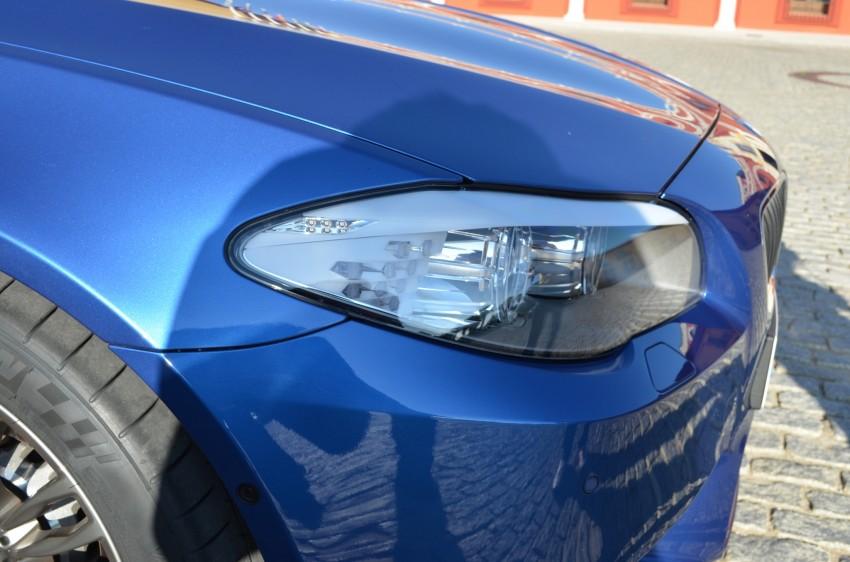 GALLERY: Regular F10 5-Series next to BMW M5 Image #71999