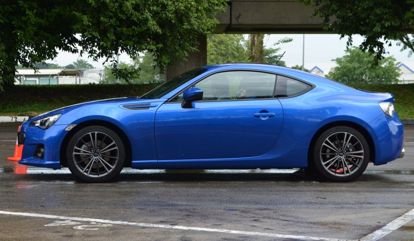 Subaru BRZ set for fourth quarter Malaysian launch – first impressions and full gallery from Singapore Image #98562