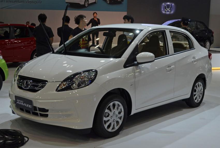 Honda Brio Amaze – Brio sedan eco car makes debut Image #143624