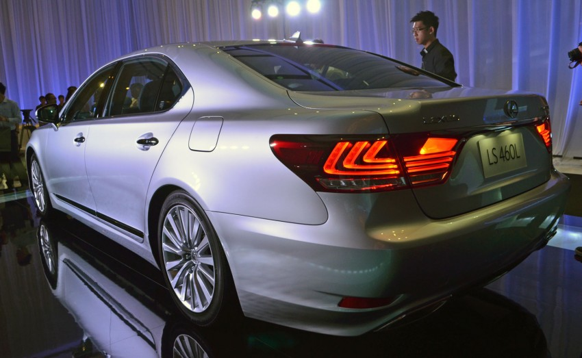 New Lexus LS launched – four variants, from RM788k Image #137838