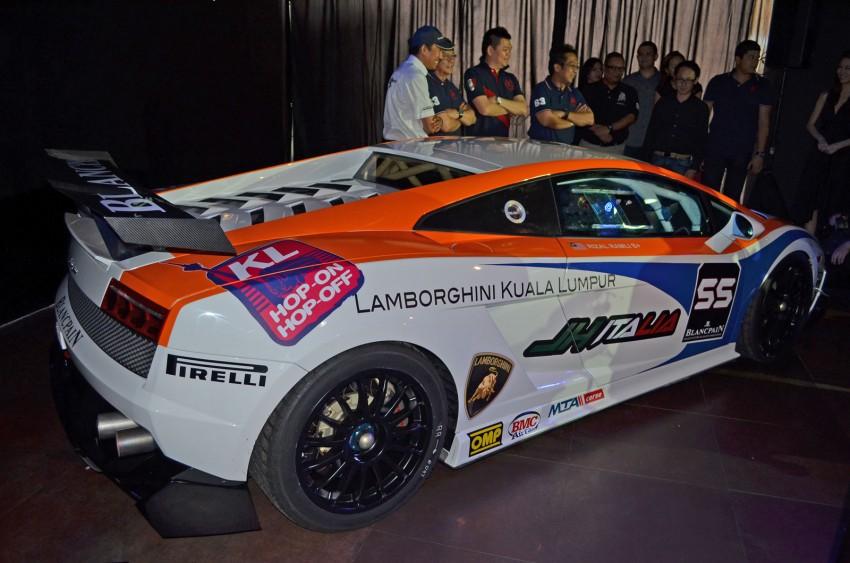 Team Lamborghini Kuala Lumpur JH Italia unveiled – Rizal Ashram Ramli a.k.a. Jejai is the Super Trofeo driver Image #107009
