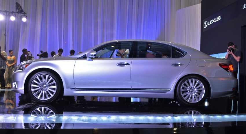 New Lexus LS launched – four variants, from RM788k Image #137839