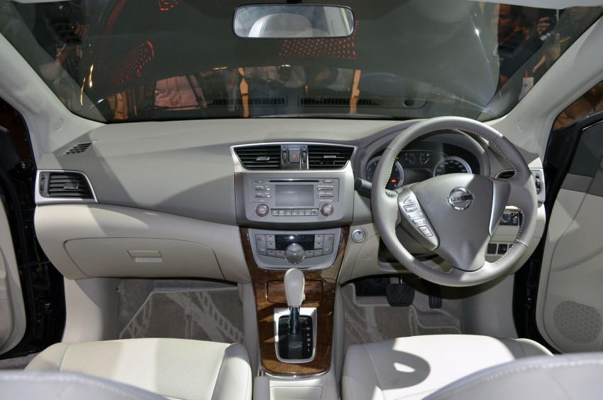 Nissan Sylphy launched in Thailand – new model gets improved 1.6, new 1.8, CVT; from 746,000 baht Image #127930