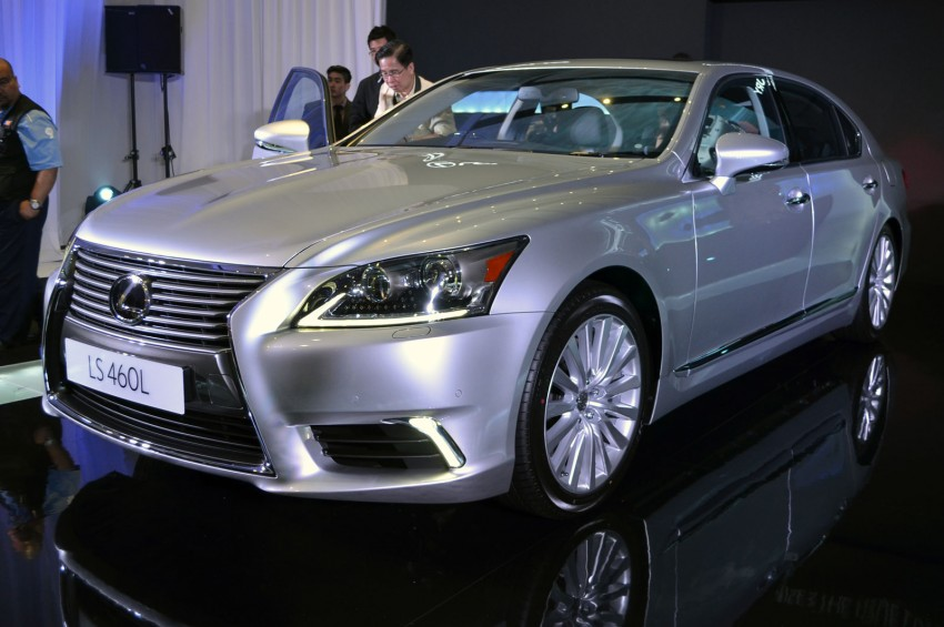 New Lexus LS launched – four variants, from RM788k Image #137840