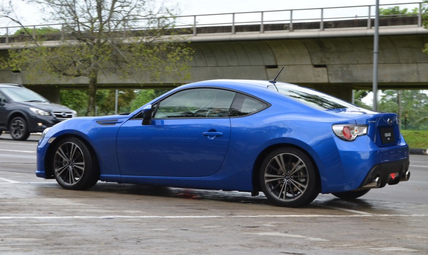 Subaru BRZ set for fourth quarter Malaysian launch – first impressions and full gallery from Singapore Image #98566