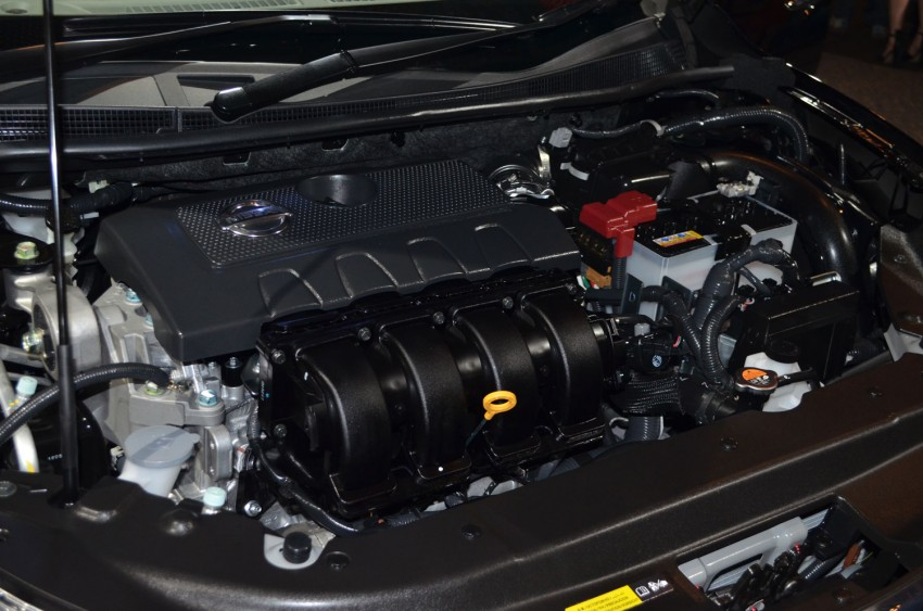 Nissan Sylphy launched in Thailand – new model gets improved 1.6, new 1.8, CVT; from 746,000 baht Image #127935