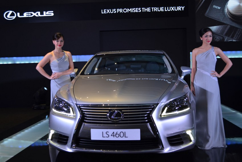 New Lexus LS launched – four variants, from RM788k Image #137844
