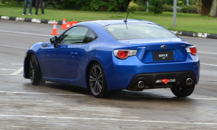 Subaru BRZ set for fourth quarter Malaysian launch – first impressions and full gallery from Singapore Image #98568