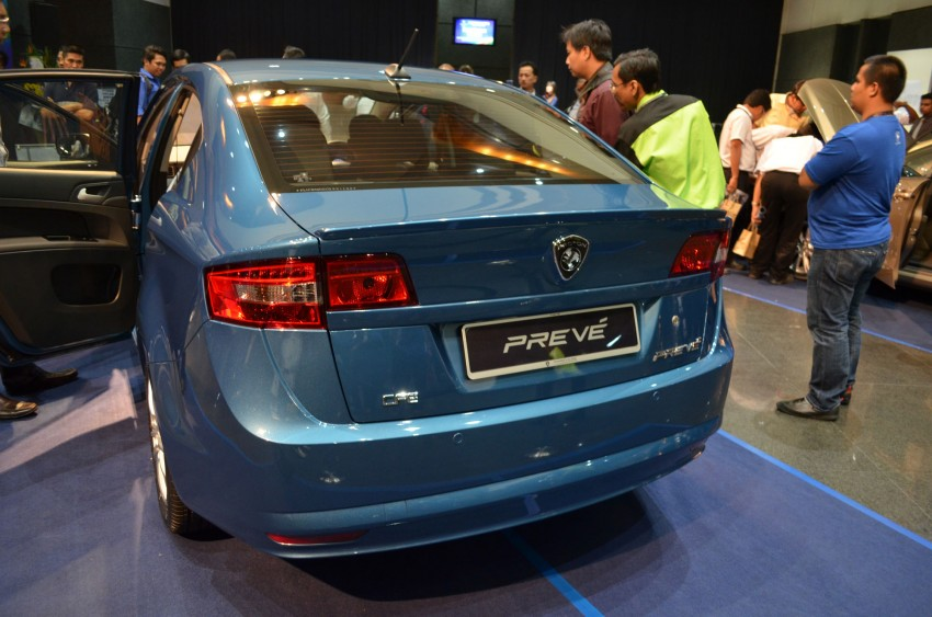 Proton Prevé with 1.6 turbo launched: RM60k – RM73k! Image #101006