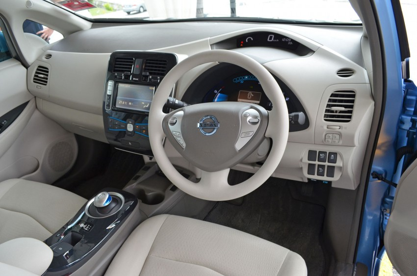 Nissan Leaf driven around the block – you can try it too! Image #104584
