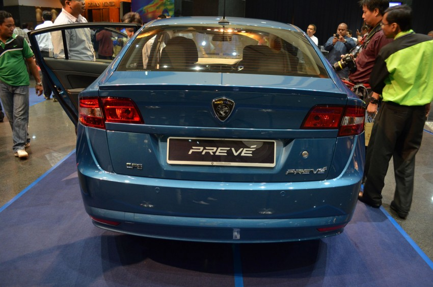 Proton Prevé with 1.6 turbo launched: RM60k – RM73k! Image #101007