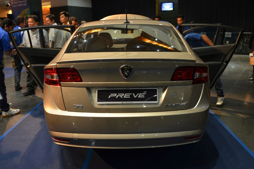 Proton Prevé with 1.6 turbo launched: RM60k – RM73k! Image #101008