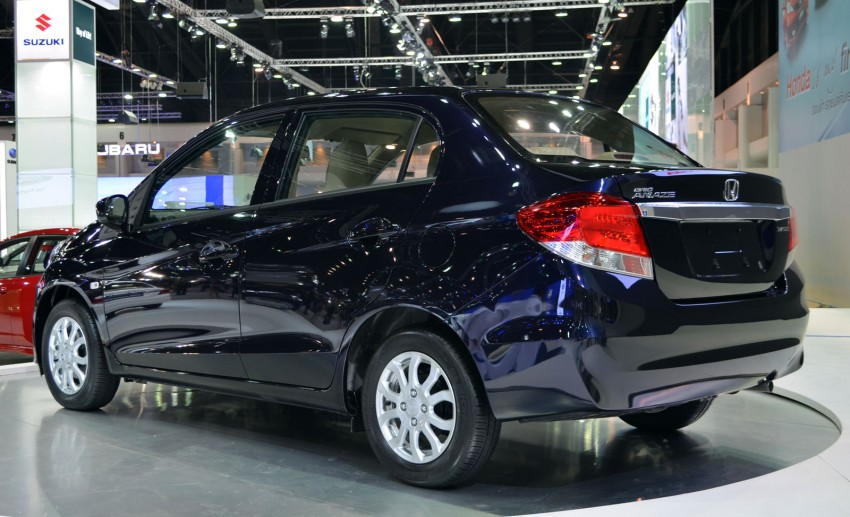 Honda Brio Amaze – Brio sedan eco car makes debut Image #143635
