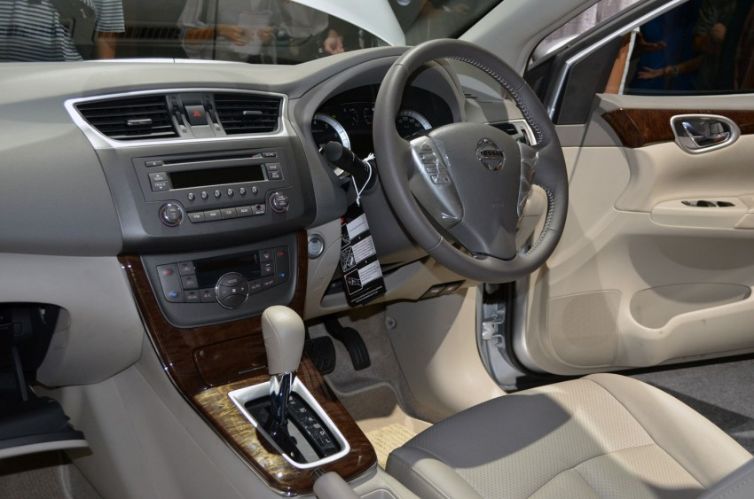 Nissan Sylphy launched in Thailand – new model gets improved 1.6, new 1.8, CVT; from 746,000 baht Image #127939
