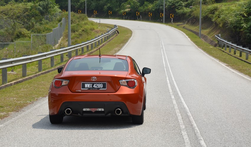DRIVEN: Toyota 86 – a true gem under the veneer Image #115466