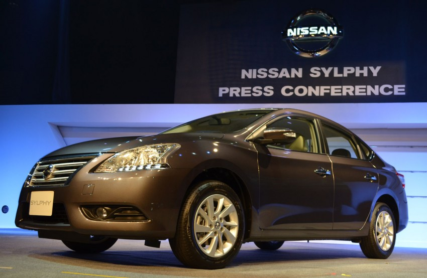 Nissan Sylphy launched in Thailand – new model gets improved 1.6, new 1.8, CVT; from 746,000 baht Image #127941