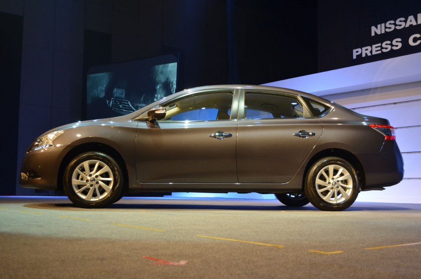 Nissan Sylphy launched in Thailand – new model gets improved 1.6, new 1.8, CVT; from 746,000 baht Image #127942