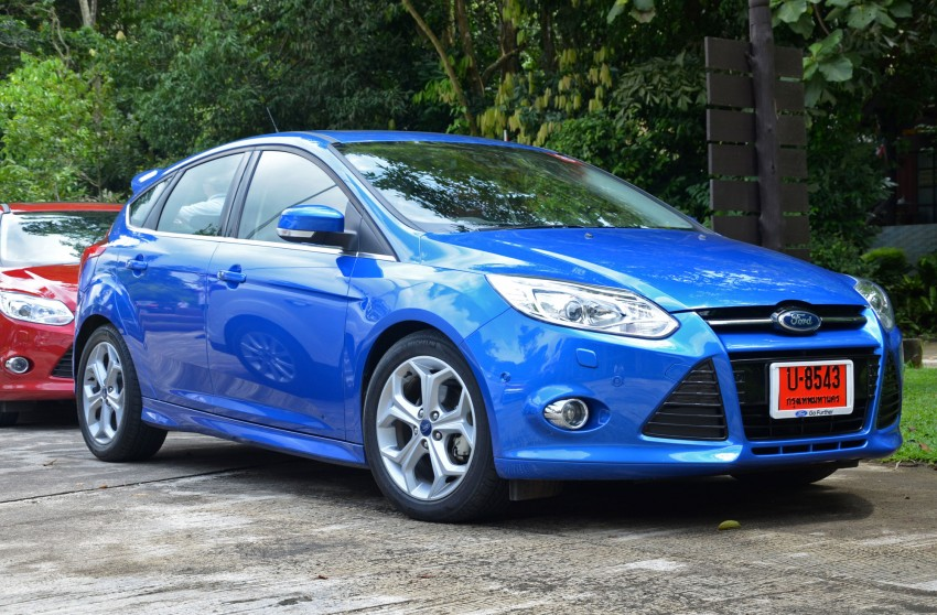 DRIVEN: New Ford Focus Hatch and Sedan in Krabi Image #118267
